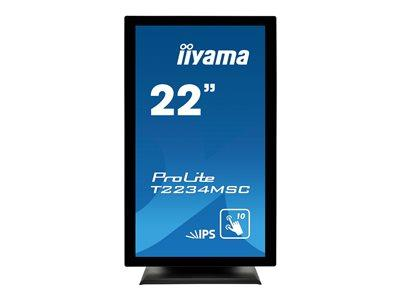 "iiyama ProLite T2234MSC-B6X 22"" 1920x1080 8ms VGA HDMI DisplayPort Touchscreen IPS LED Monitor"