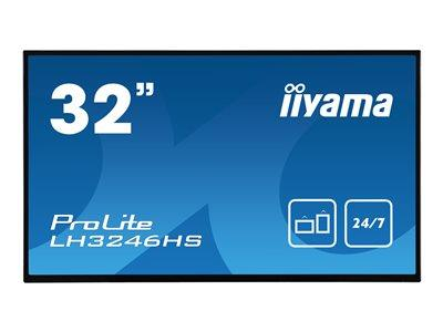 "iiyama ProLite LH3246HS-B1 32"" 1920x1080 VGA DVI HDMI DisplayPort IPS LED Large Format Display"