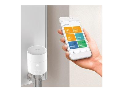 tado Smart Radiator Thermostat - Quattro Pack - Vertical