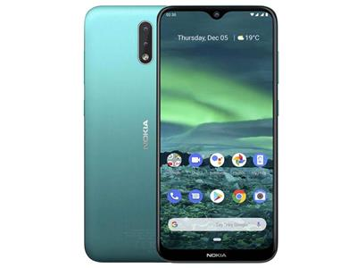 "Nokia 2.3 - 6.2"" HD Display - Cyan Green"