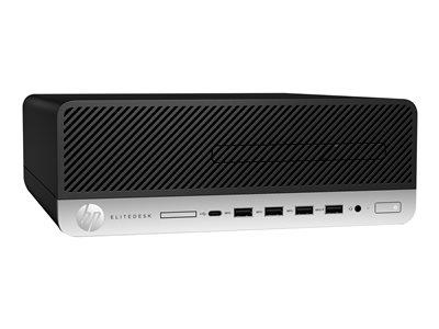 HP EliteDesk 705 G5 SFF Ryzen 5 Pro 3400G 8GB 256GB SSD Windows 10 Professional 64-bit