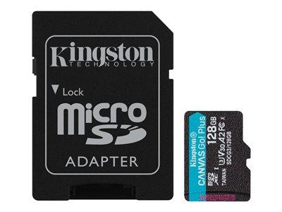 Kingston 128GB microSD CanvasGo Plus Card