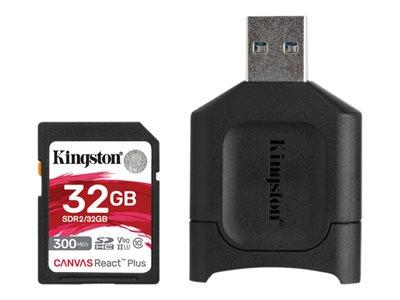 Kingston 32GB SDHC React Plus Card