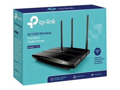 TP LINK Archer AC1200 Dual-Band Wi-Fi Router