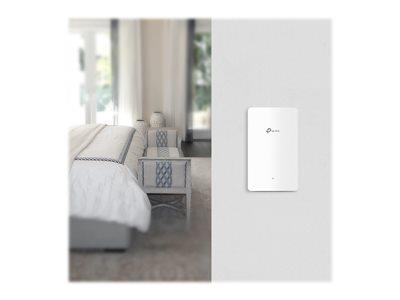 TP LINK Omada EAP225-Wall AC1200 Dual Band Wall-Plate Access Point