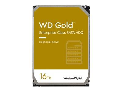 "WD 16TB Gold Enterprise 7200 RPM SATA 3.5"" 256MB Hard Drive"