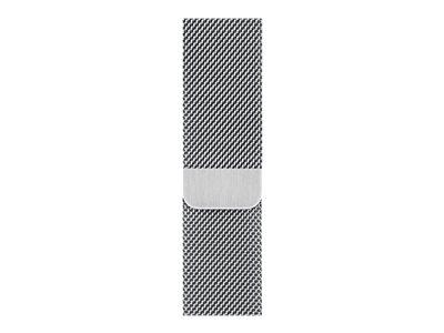 Apple Watch Series 6 GPS + Cellular, 44mm Silver Stainless Steel Case with Silver Milanese Loop
