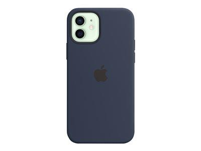 Apple iPhone 12 Pro Silicone Case with MagSafe Deep Navy