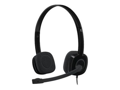 Logitech Stereo H151 Headset - On-Ear - Wired