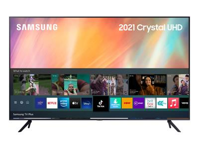 "Samsung 75"" AU7100 (2021) 4K Ultra HD HDR Smart TV"
