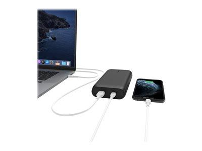 Belkin BOOST UP CHARGE 20000 mAh 30 Watt Fast Charge/PD USB-C Power Bank - Black