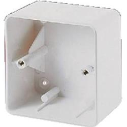 Monacor Surface-Mount Housing for200 Series w/ 2 Hole Fixing