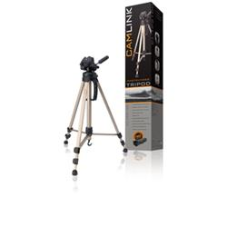 Camlink 3 Section 3 Way Pan Tilt Head Tripod + Case