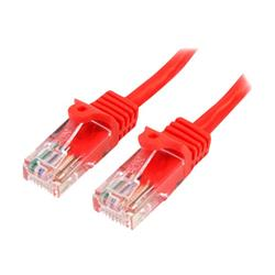 Image of StarTech.com Cat5e Patch Cable with Snagless RJ45 Connectors 1m - Red