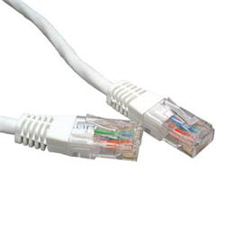 Cables Direct CAT5e Network Ethernet Patch Cable White 1m