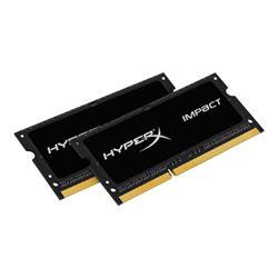 HyperX Impact Black 16GB (2x8GB) DDR3L 1866MHz CL11 SODIMM Memory
