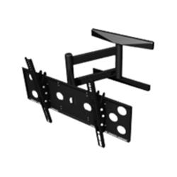 "PMVmounts Universal Articulated Wall Mount Black 32""-47"""