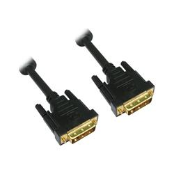 Cables Direct DVI cable dual link  DB25 (M) DB25 (M) 1m