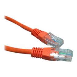 Cables Direct Cable Depot 0.5m RJ-45 (M) to RJ-45 (M) CAT 6 Moulded, Halogen-Free, Booted - Orange