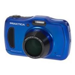 PRAKTICA Luxmedia WP240 Waterproof Blue Camera Kit inc 8GB MicroSD Card