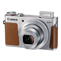 Canon PowerShot G9X 20.2MP Touch Screen Black and Silver Camera