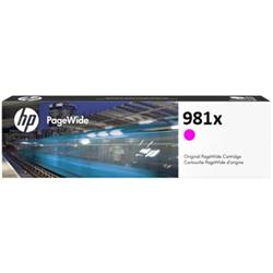 HP 981X High Yield Magenta Original PageWide