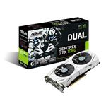 Asus GeForce GTX 1060 DUAL OC 6GB GDDR5 PCIe3.0 Graphics Card