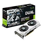Asus GeForce GTX 1060 DUAL 6GB GDDR5 PCIe3.0 Graphics Card
