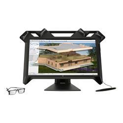 HP ZVR Virtual Reality Display 3D LED 23.6 Monitor
