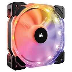 Corsair HD120 RGB LED Static 3-Pack Pressure Fan with Controller
