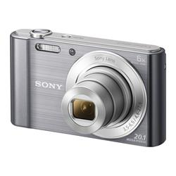 Sony Sony DSCW810 Camera Silver 20.1MP  6x Zoom 2.7LCD