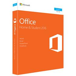 Microsoft Office Home & Student 2016 for Windows  1 PC  Medialess (One Time Purchase)