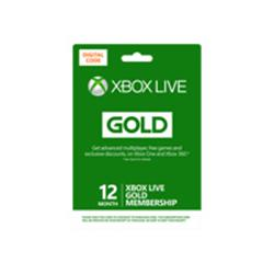 Microsoft Xbox LIVE Prepaid 12 Month Gold Subscription