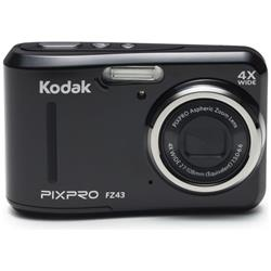 Kodak PIXPRO FZ43 Black Camera Kit inc 8GB SDHC Card and Case