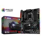 MSI B250 GAMING PRO CARBON LGA1151 Intel B250 DDR4 ATX