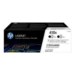 HP 410X HY Original LaserJet 2pk Black