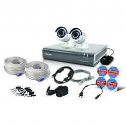 Swann Communications 4 Channel 2 Camera 1080p CCTV Kit