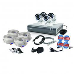 Swann Communications 4 Channel 4 Camera 1080p CCTV Kit