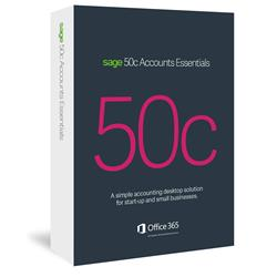Sage 50c Accounts Essentials 12 Month Subscription