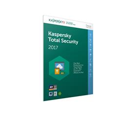 Kaspersky Lab Total Security 2017 Box Pack (1 year) 5 Devices (Frustration Free Packaging)