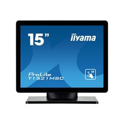 iiyama ProLite T1521MSCB1 15 1024 x 768 8ms VGA Touch Monitor