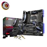 MSI X299 GAMING PRO CARBON AC Intel X299 S2066 DDR4 U.2 USB3.1