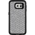 OtterBox MySymmetry for Samsung Galaxy S6 - Black Crystal with Tri Grid Grey