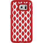 OtterBox MySymmetry for Samsung Galaxy S6 - Scarlet Crystal with Pink Mesh