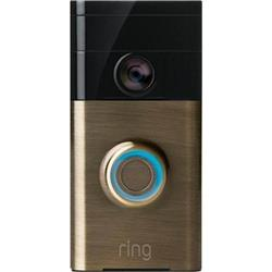 Ring Video Doorbell - Antique Brass