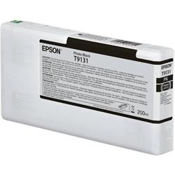 Epson Epson T9131 - 200 ml - photo black - original - ink cartridg