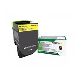 Lexmark Cs/X317 Yellow Return Program Toner Cartridge 2.3K
