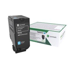 Lexmark Cs/Cx727/Cs728 Cyan Return Program Toner Cartridge 10K