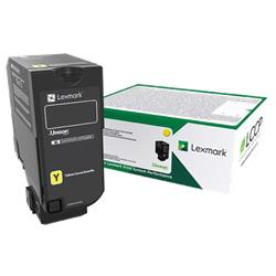 Lexmark Cs/Cx827 Yellow Return Program Toner Cartridge 15K