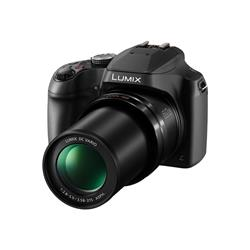 Panasonic Lumix DC-FZ82 18.1MP 60x Zoom 4K Digital Camera - Black
